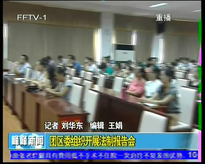 团区委组织开展法制报告会