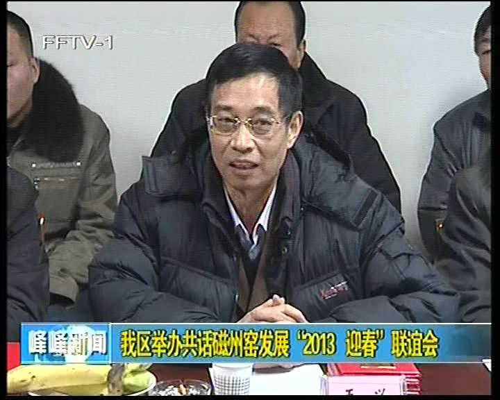 """我区举办共话磁州窑发展""""2013 迎春""""联谊会"""