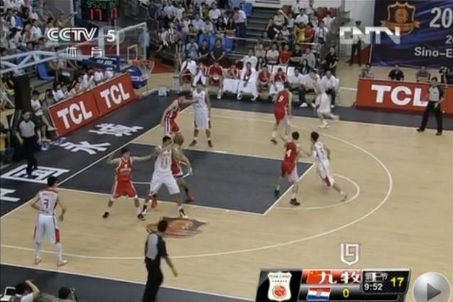 6月28日 男篮中欧对抗赛 中国男篮vs克罗地亚 视频集锦