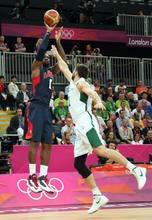 8月4日 奥运会男篮 美国vs立陶宛 全场录像回放