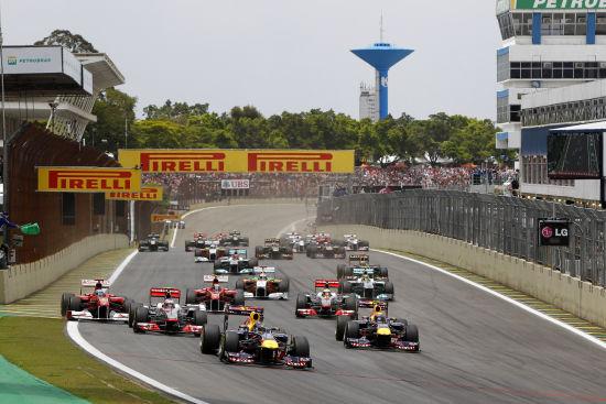 2012F1巴西站正赛视频直播,11月26日F1巴西站大奖赛录像