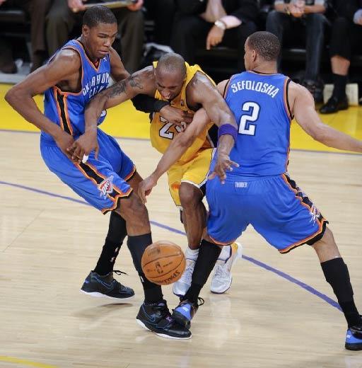 1月28日NBA常规赛湖人vs雷霆视频直播全场录像回放